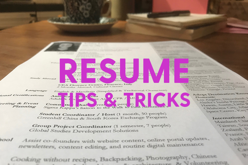 tour director resume tips  u0026 tricks  u2013 tripschool